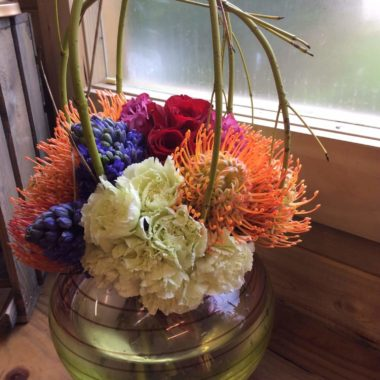 Grouped Contemporary bouquet